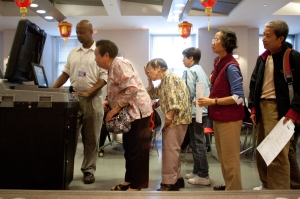 Board of Elections trains Seniors on new voting methods