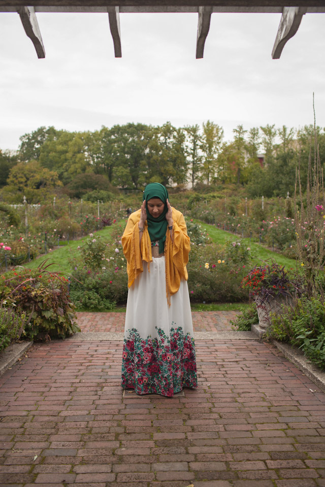 6_Grace in Brooklyn Botanical Gardens_2