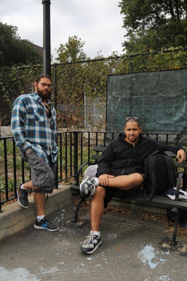 Edward Castillo and Richard Alvez, Red Hook, Brooklyn