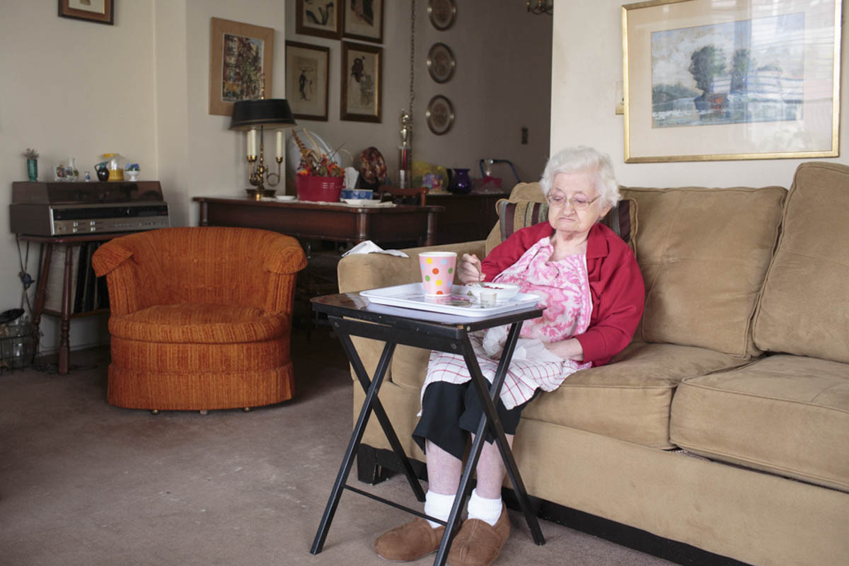 """Helen, who turned 100 on June 1, is one of the people I connected with most this year, as I worked on my project """"Alive and Amazing"""" about elderly women born before 1930 who live alone in NYC"""