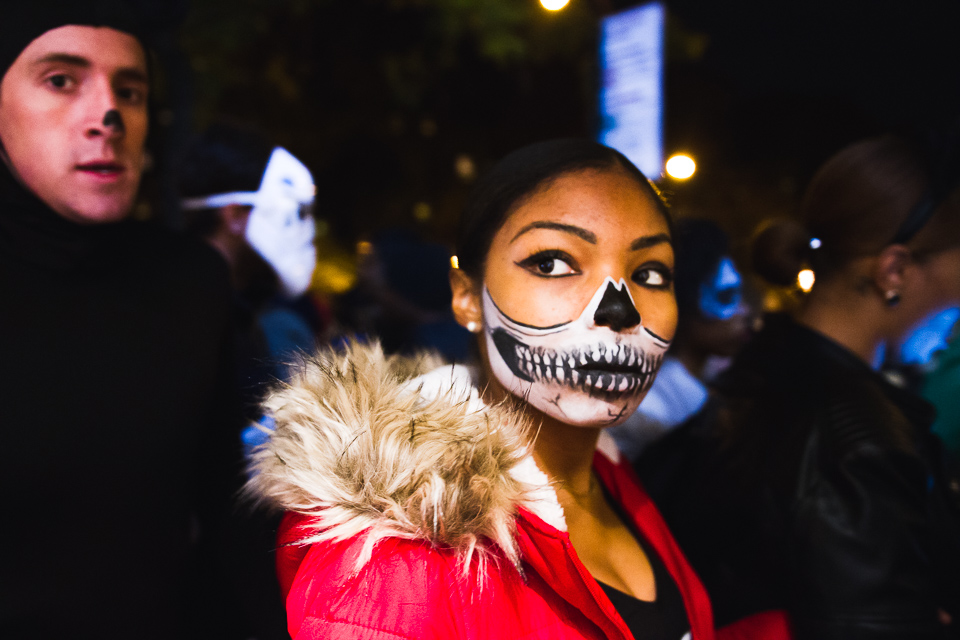 Oct. 31 2015 - New York City - Countless spectators came to enjoy the 42nd Annual Village Halloween Parade, where everyone who dresses up in costume is welcome to join.