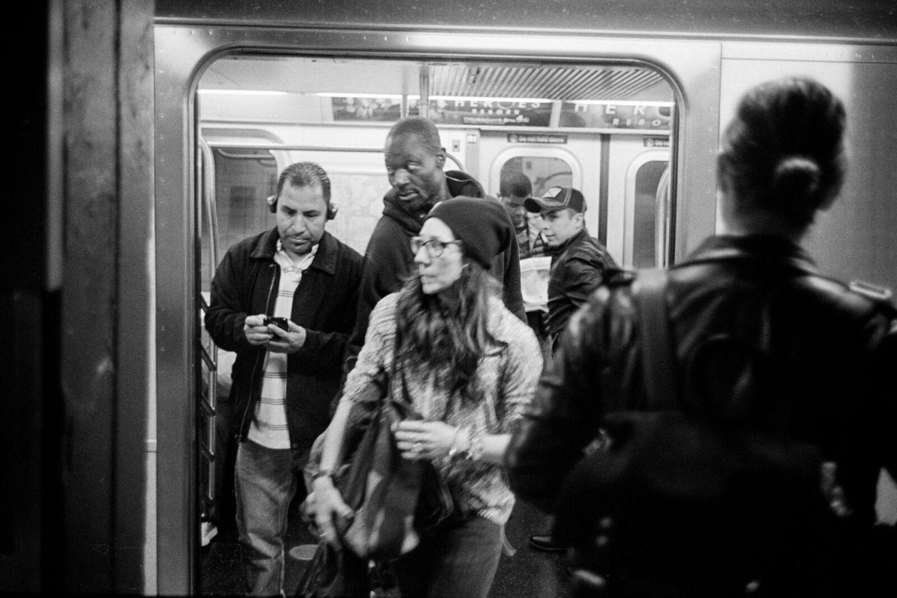 Subway Rush Hour ©William Wu
