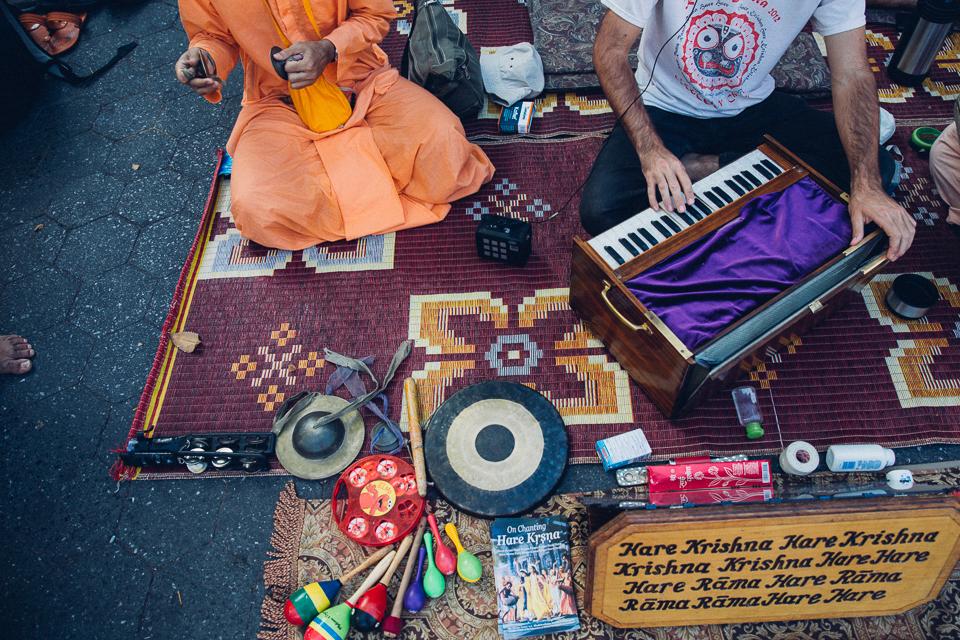 New York's Hare Krishnas