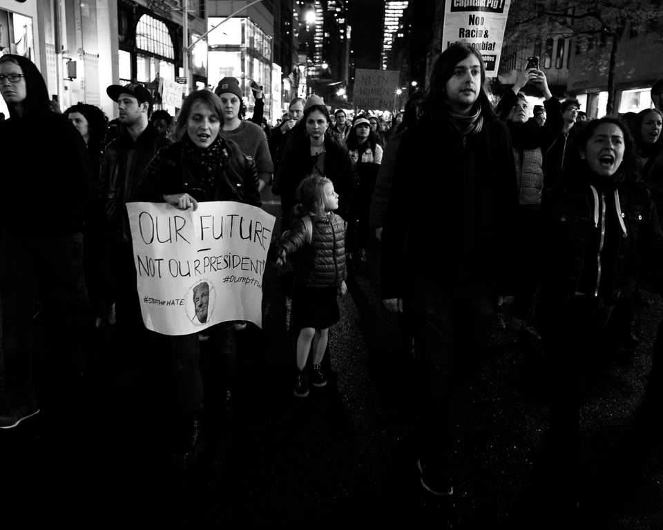 Anti-Trump Rally_16092016_NYC Photo by Yifan Huang