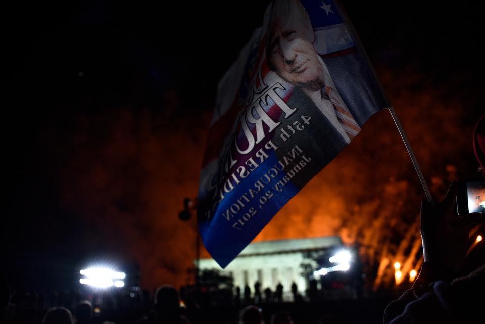 Night before Inauguration